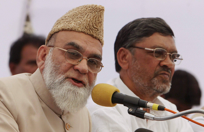 Bukhari addresses press conference